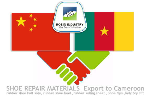 shoe repair materials export to Cameroon