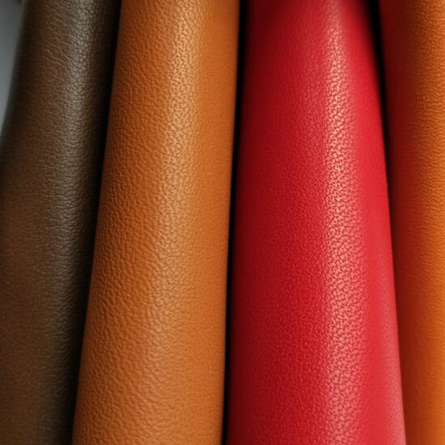 The first layer of cow leather