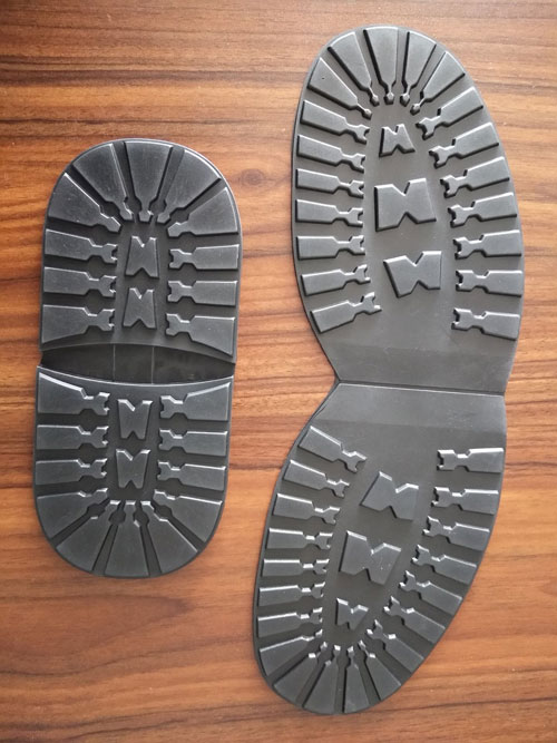 rubber shoe half soles and heels for shoe repair materials