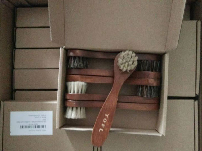 Horsehair brushes ship to Florida of USA