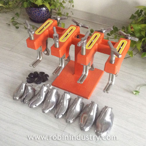 RC-23 SHOE STRETCHER MACHINE WITH FOUR HEADS